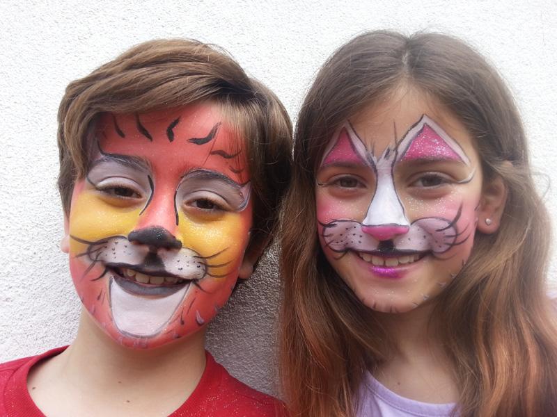 Koko producciones - Maquillaje infantil